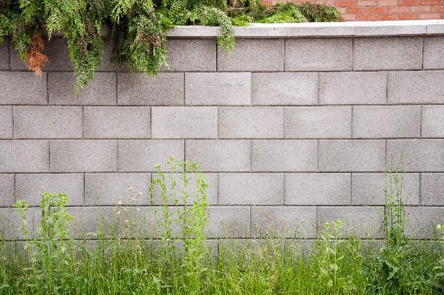 ブロック塀のイメージ写真