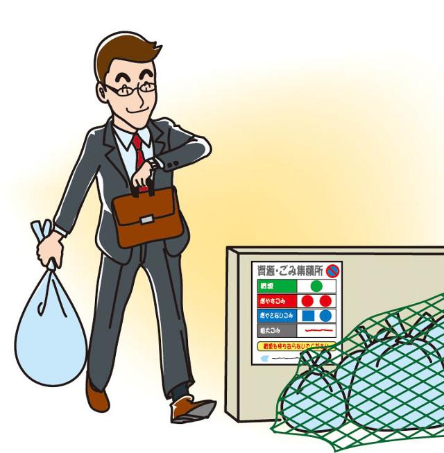 ゴミ置き場のイメージ