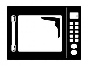 電子レンジのイメージ