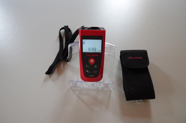 ふくろう不動産が使用しているレーザー距離計