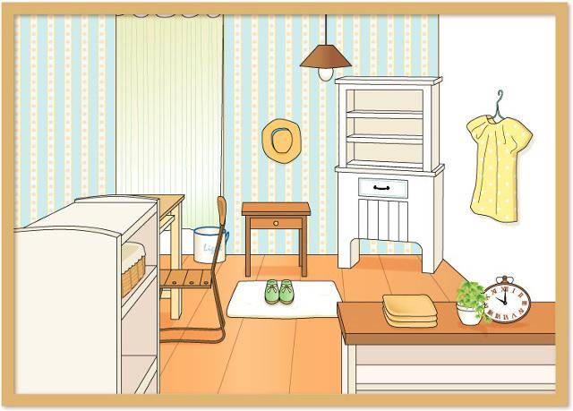 家具のイメージイラスト