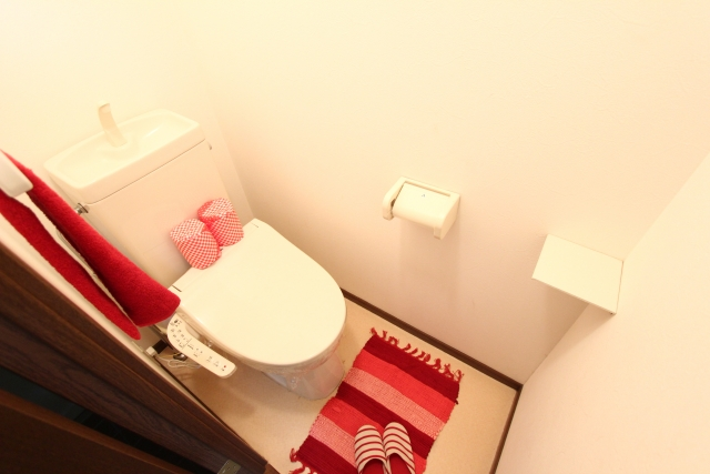 ウォッシュレット付きトイレ
