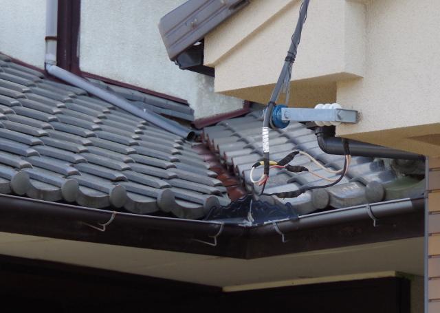 谷がある屋根の形