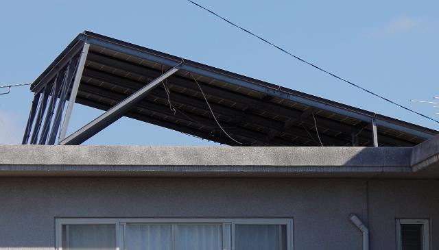 陸屋根の例1