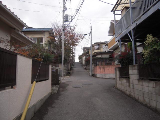 八千代台東の坂道