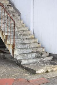外階段イメージ写真