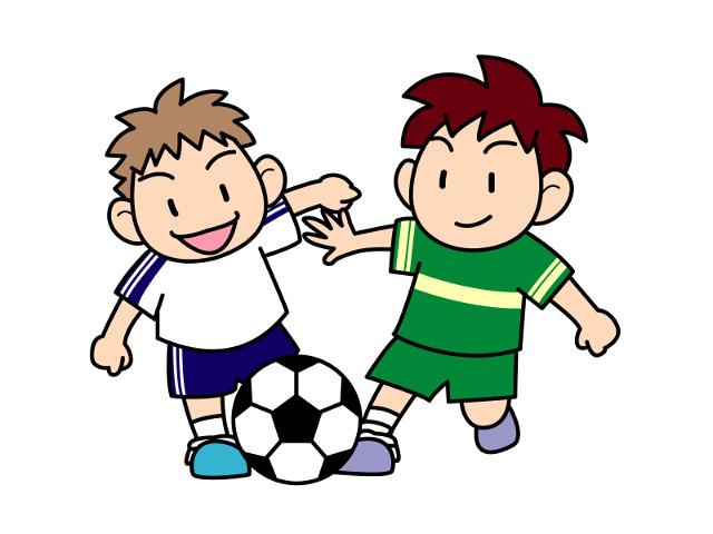 サッカーをしている子どもイメージ