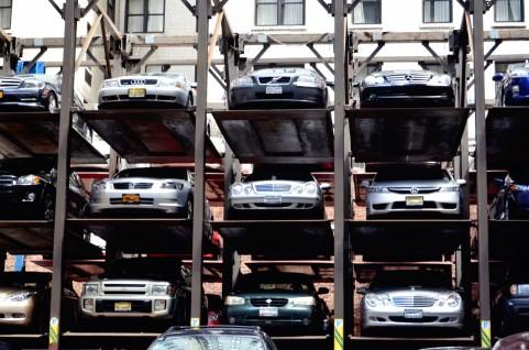機械式駐車場イメージ写真