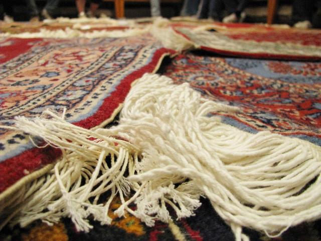 絨毯のイメージ