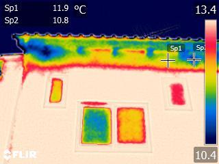 外壁の温度差