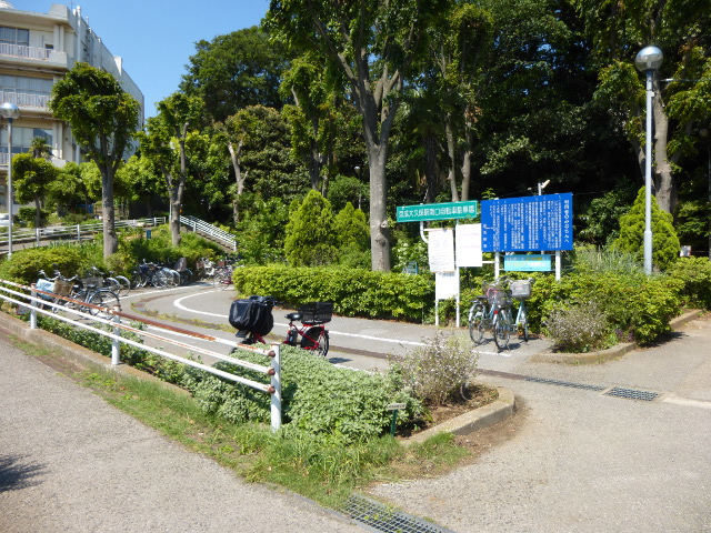 駅南の駐輪場