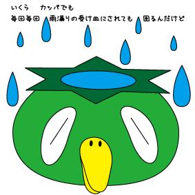 雨漏りのイメージ