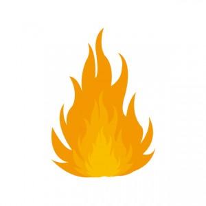 燃やすイメージ