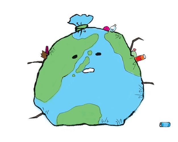 ゴミ問題のイメージ