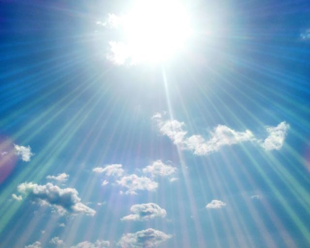 日射のイメージ