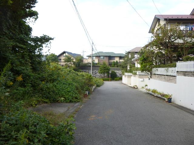 勝田台駅北側の住宅街