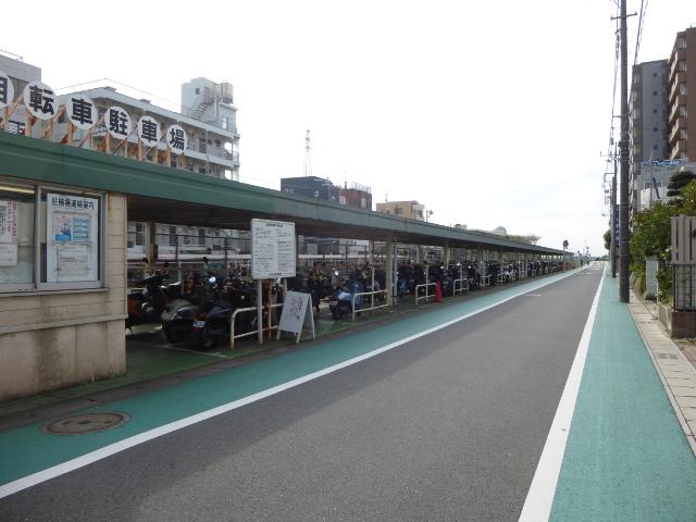 バイク用駐輪場