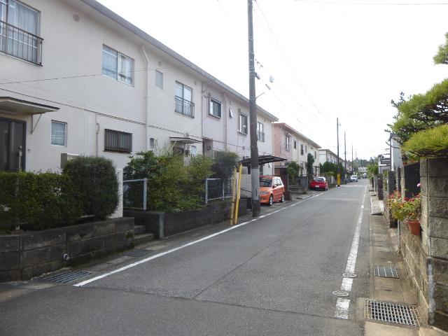 低層の住宅街