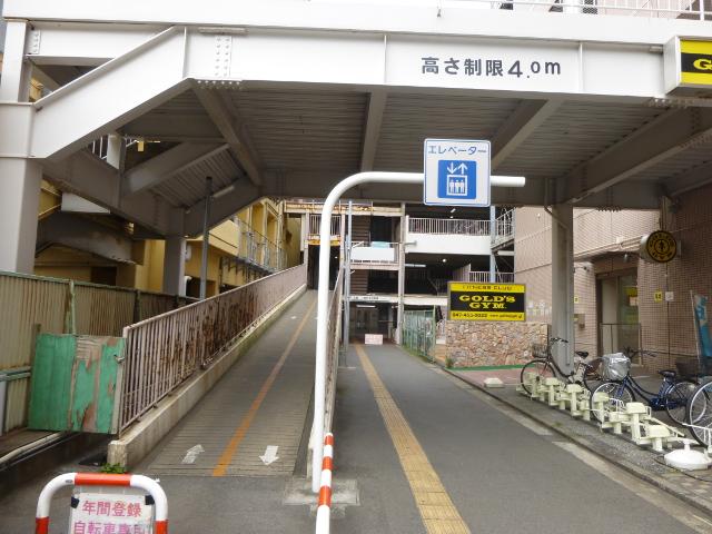 京成津田沼駅の駐輪場