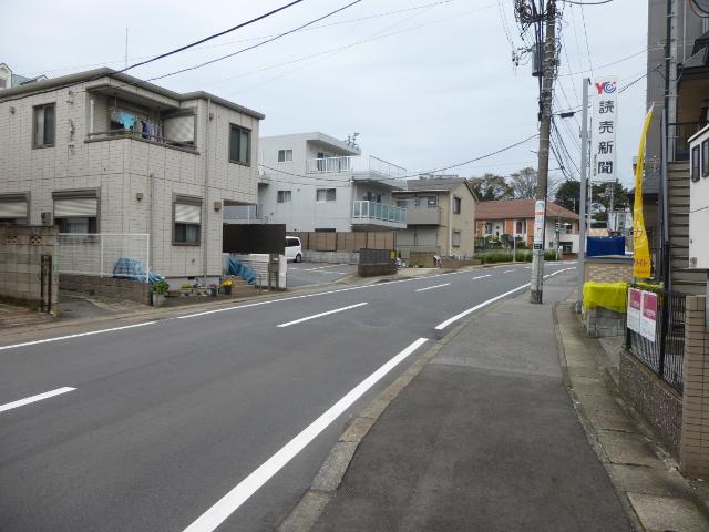 京成津田沼駅近くの住宅街