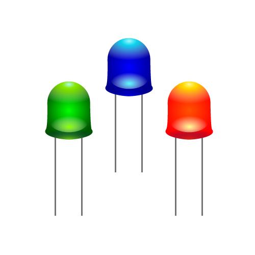 LEDの3色