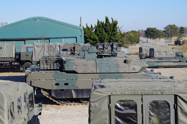 戦闘系車両がたくさん