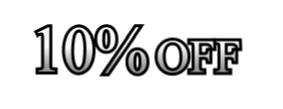 10%のイメージ