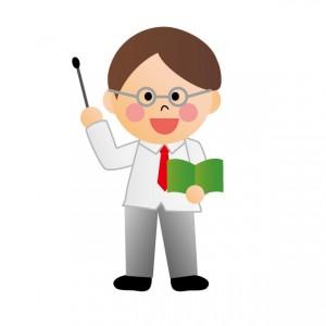 塾の先生のイメージ