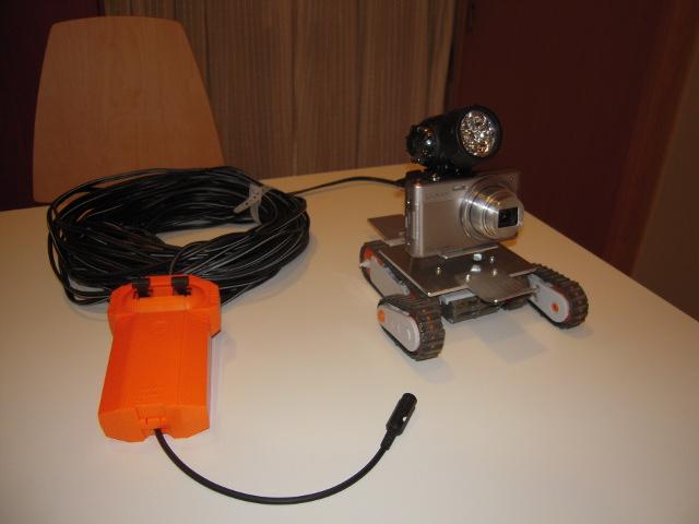 床下探査ロボット