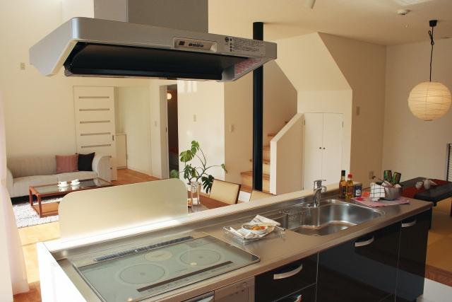 オール電化住宅のキッチン