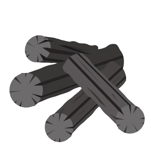 木炭のイメージ