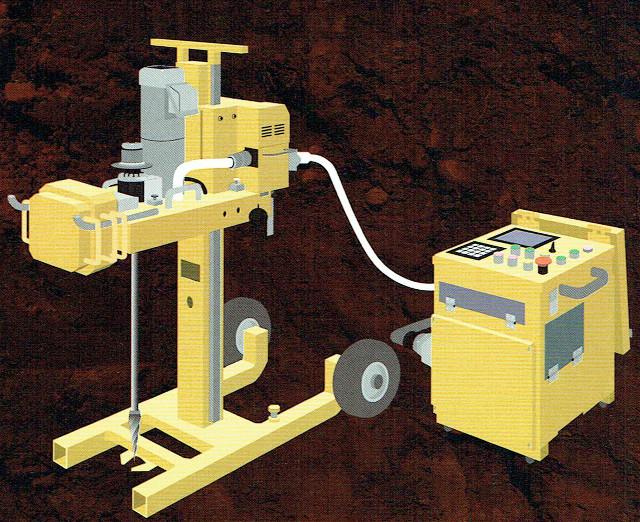 地盤調査(SDS)の機械