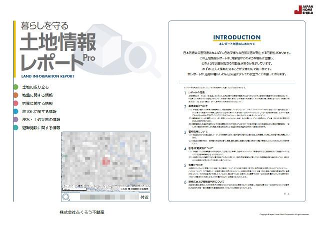 土地情報レポートサンプル