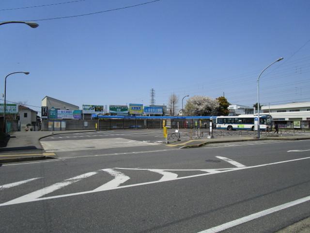 新検見川駅北口方面のバス停