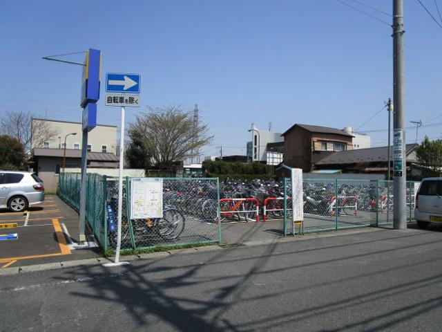 第8駐輪場