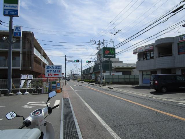 県道72号線沿線