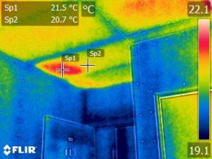 天井の断熱欠損
