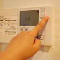 床暖房のスイッチ