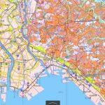 千葉から東京東部の土地条件図