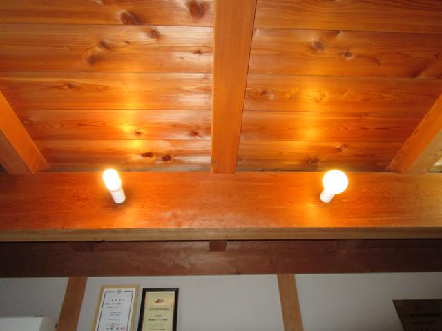 CCFLと蛍光球の比較