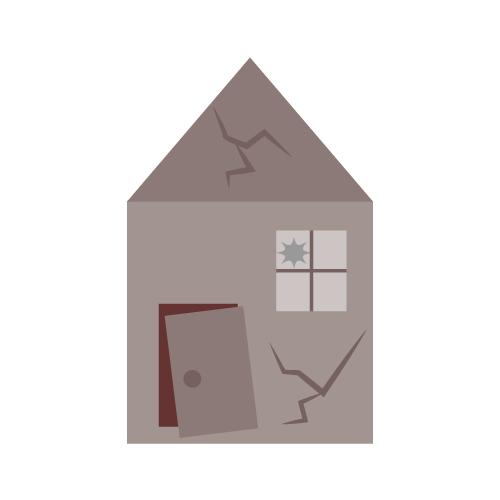 住宅の欠陥のイメージ