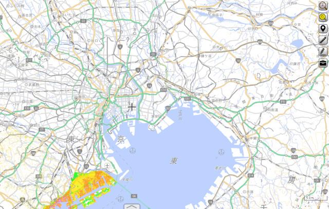 津波と土砂災害のハザードマップ