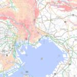 首都圏のハザードマップ